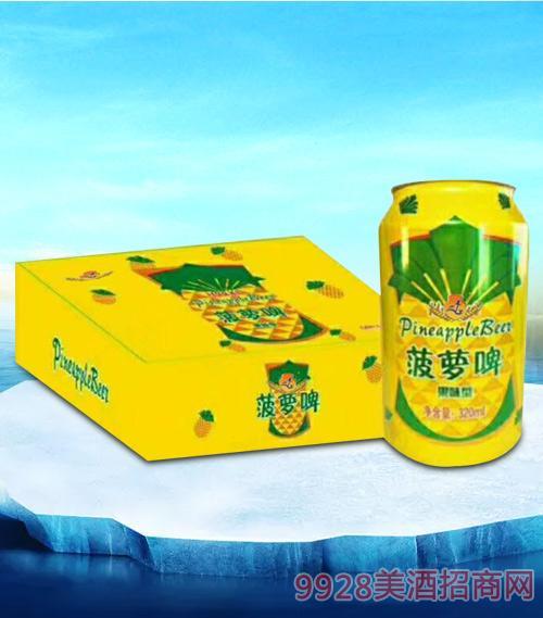 亮剑啤酒菠萝啤果味型320ml-果啤