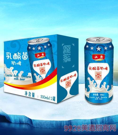 乳酸菌奶啤(箱装)500mlx12