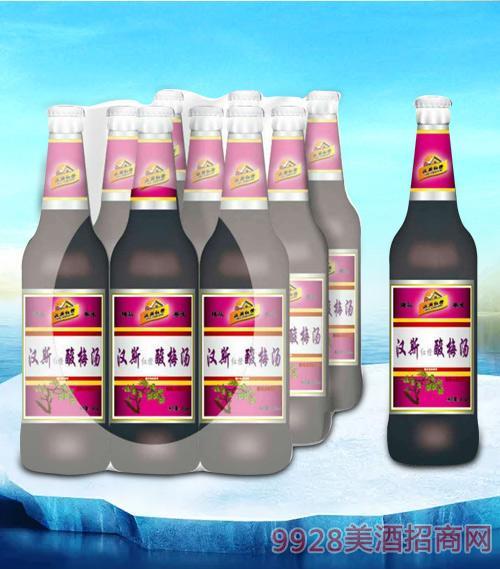 亮剑啤酒汉斯酸梅汤碳酸饮料-果啤