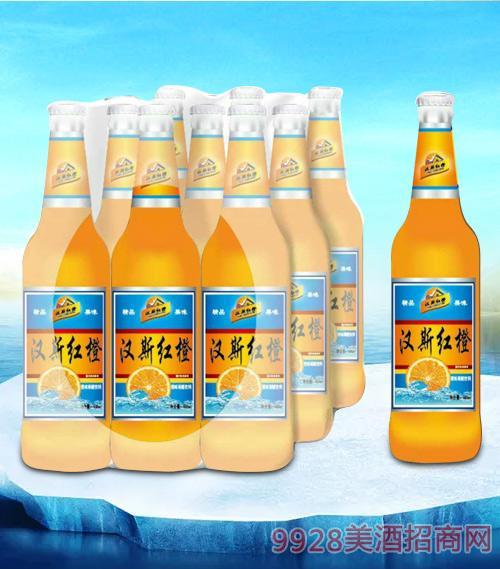 亮剑啤酒汉斯红橙碳酸饮料-果啤