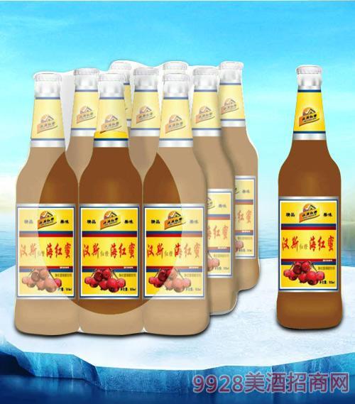 亮剑啤酒汉斯海红蜜碳酸饮料-果啤