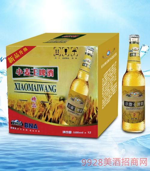 青杰小麦王啤酒精品500mlx12-瓶啤