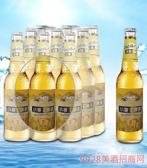 青杰小麦王啤酒塑包500mlx9-瓶啤