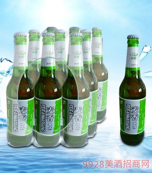 青杰麦香啤酒塑包500mlx9-瓶啤
