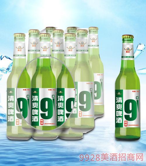 青杰清爽啤酒塑包500mlx9-瓶啤