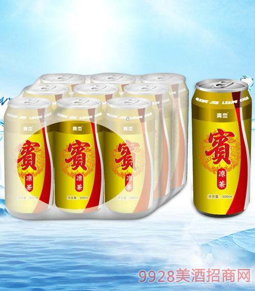 青杰宾凉茶500mlx9