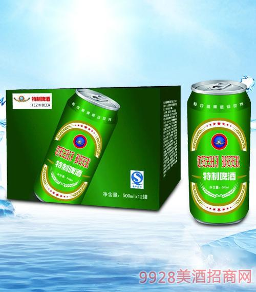 青杰特制啤酒箱装500mlx12-易拉罐
