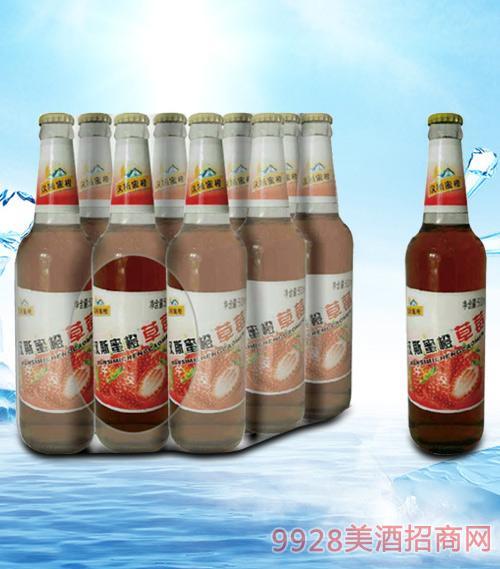青杰汉斯蜜橙草莓汁500ml