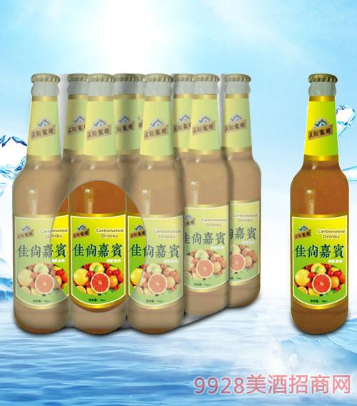 青杰汉斯蜜橙佳尚嘉宾果汁500ml