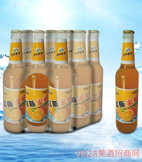 青杰汉斯蜜橙汁500ml