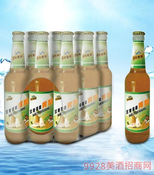 青杰汉斯蜜橙黄梨汁500ml