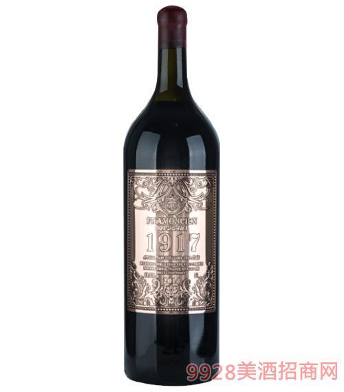 1917法��法蒙�珍藏干�t葡萄酒