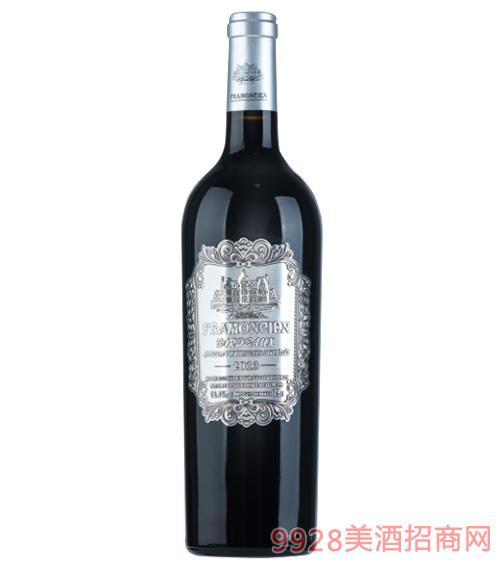 2013法��法蒙��典干�t葡萄酒