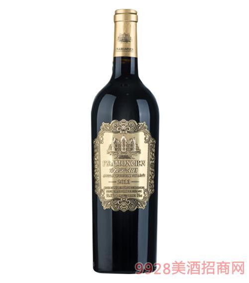2013法��法蒙��典干�t葡萄酒750ml