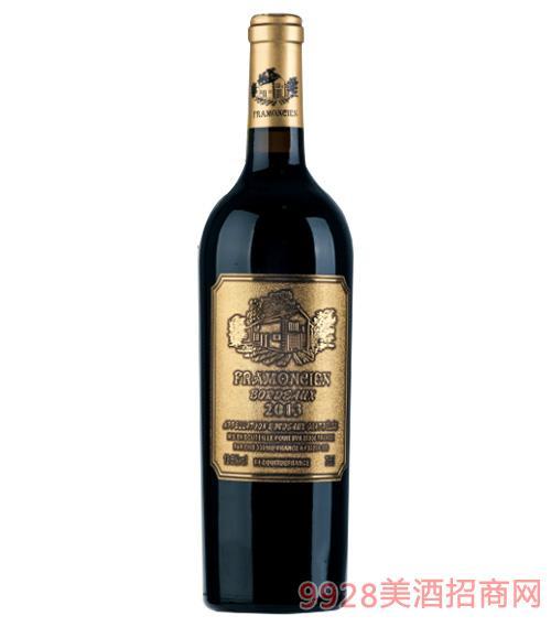 2013法��法蒙�典藏干�t葡萄酒750ml
