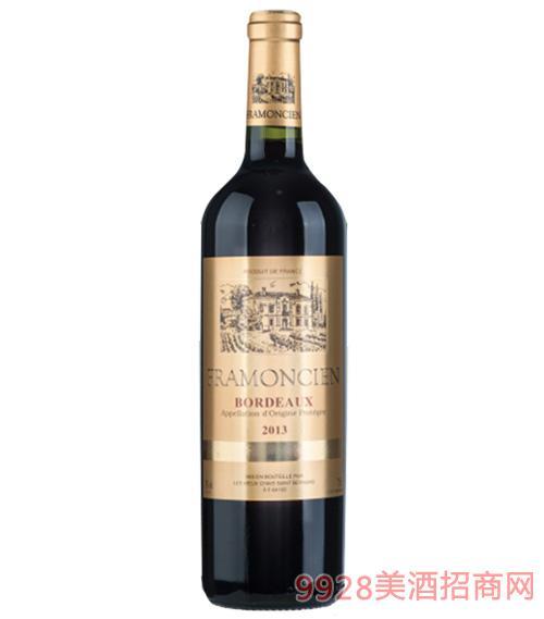 2013法��法蒙�精品干�t葡萄酒750ml