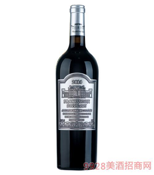 2014法��法蒙��典干�t葡萄酒