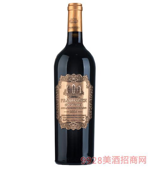 2014法��法蒙��典干�t葡萄酒750ml