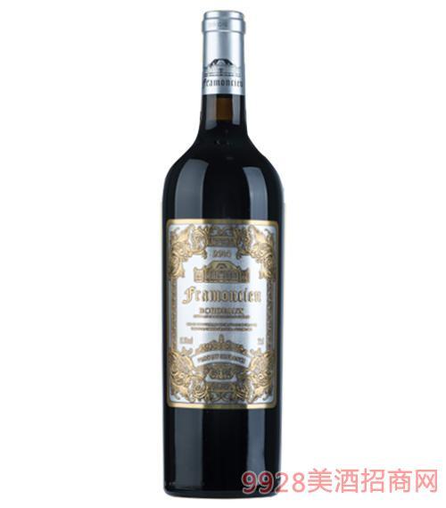 2014法��法蒙�窖藏干�t葡萄酒