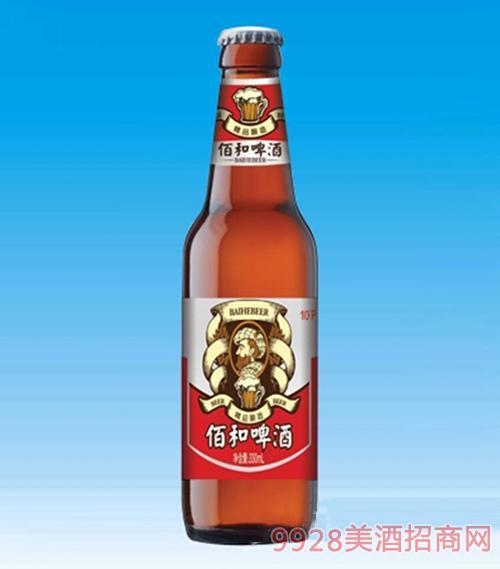 佰和皇冠啤酒瓶装330ml
