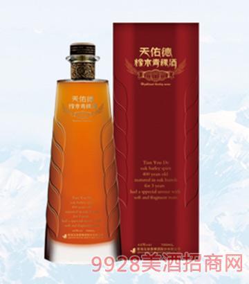 青海互助橡木青稞酒43度700ml