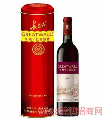 长城钻石系列·解百纳葡萄酒(铁桶)