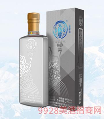 天佑德青稞酒纯净46度275ml