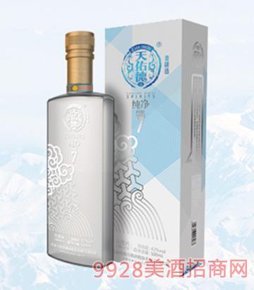 天佑德青稞酒纯净42度500ml
