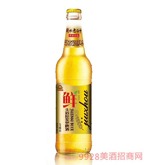 衡水老白干头道原浆型啤酒8度580ml