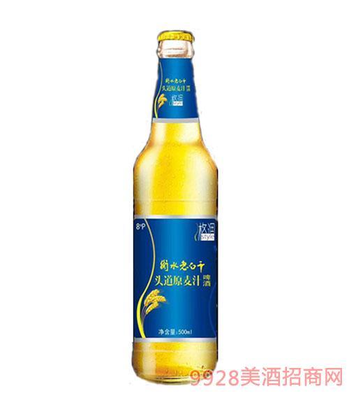 衡水老白干头道原麦汁啤酒8度500ml