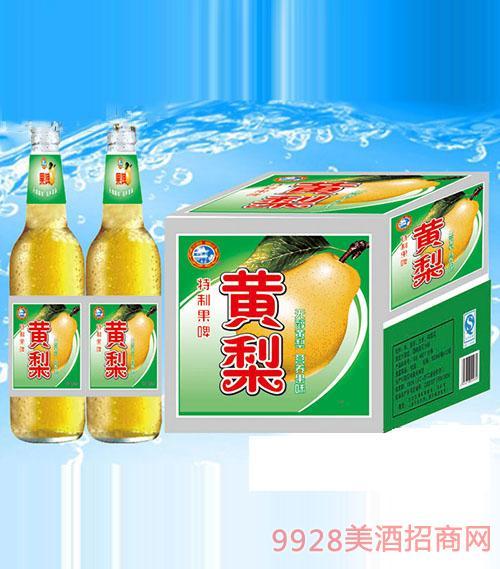 500毫升黄梨果啤箱装