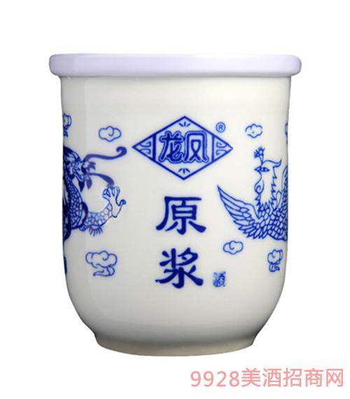 42度龙凤原浆茶缸酒125mL浓香型
