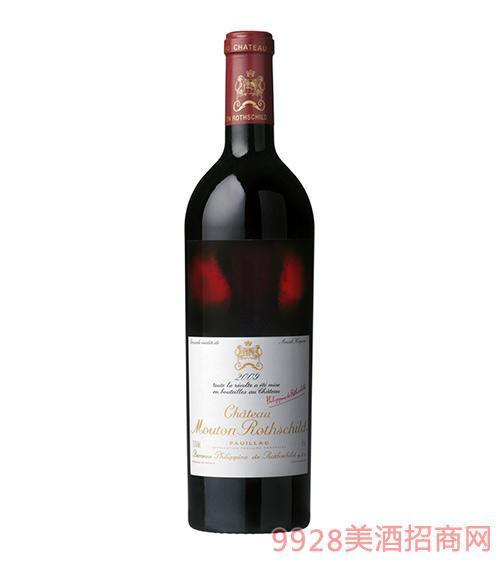 法国波尔多木桐古堡干红葡萄酒