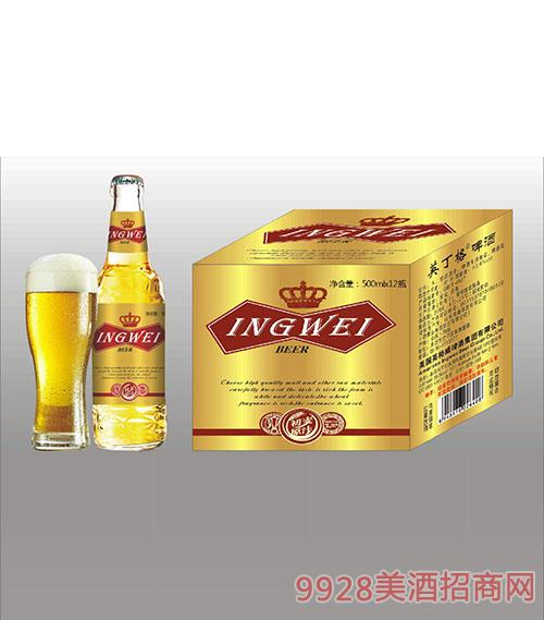 美国英格威啤酒500mlx12