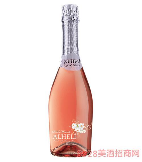 西班牙浪漫之花桃红起泡葡萄酒