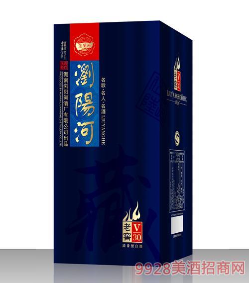 浏阳河酒老窖V30