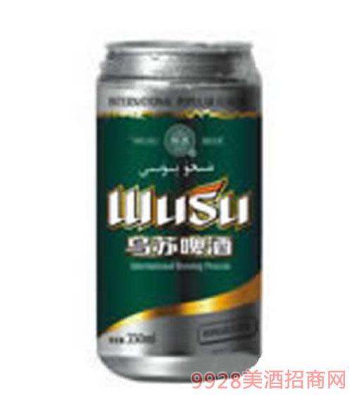 乌苏易拉罐啤酒