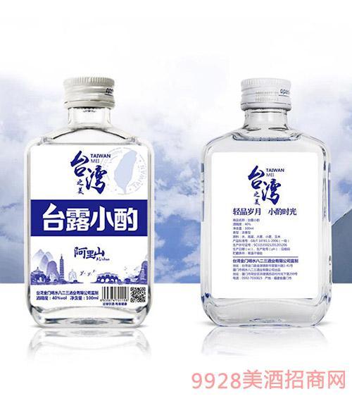 台湾之美台露小酌小酒40度100ml