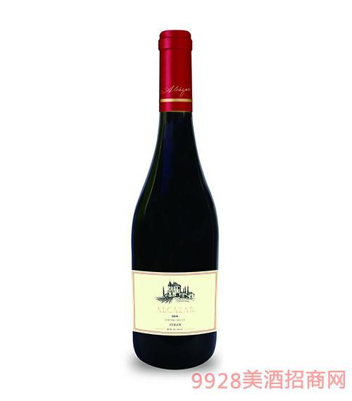 智利阿尔卡莎精选西拉红葡萄酒