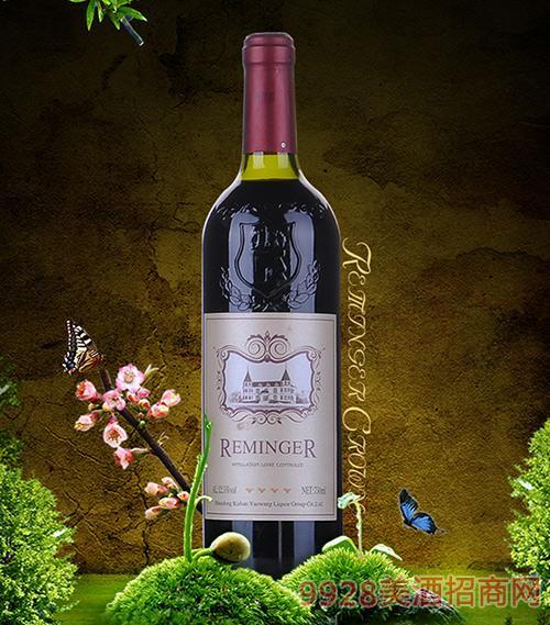 耶米格四钻干红葡萄酒12.5度750ml