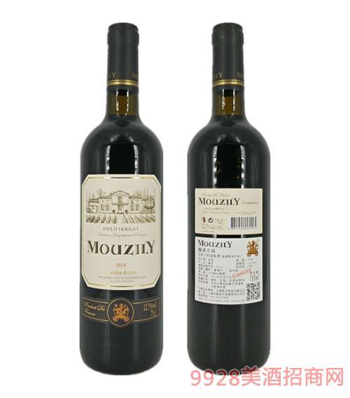 法国穆泽庄园艾萨干红葡萄酒12.5度750ml