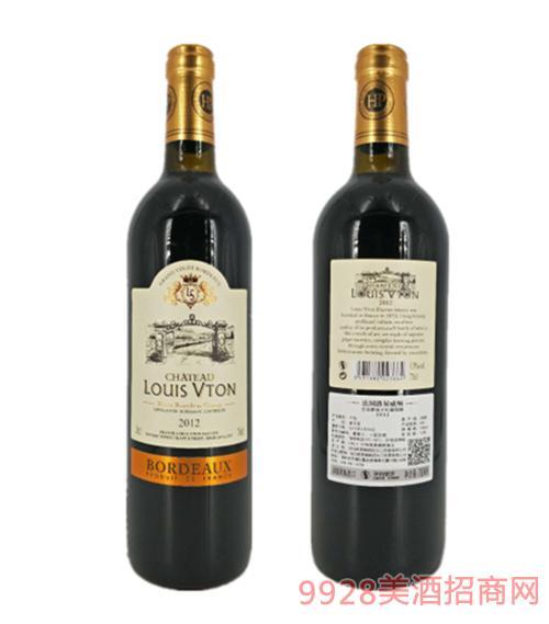 法国路易威顿皇室路易干红葡萄酒13度750ml