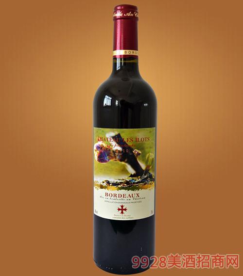 法国波尔多春系列干红葡萄酒