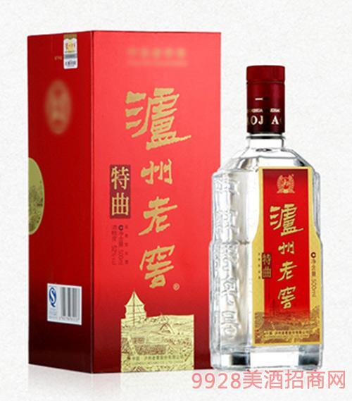 泸州老窖酒特曲酒52度500ml