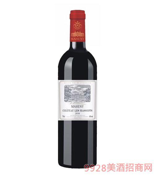 法国马轩尼诺斯特红葡萄酒