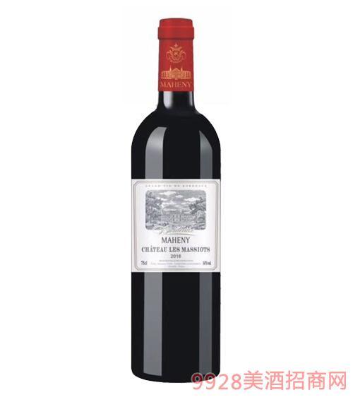 法国马轩尼诺尔特红葡萄酒