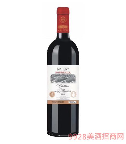 法国马轩尼克斯特红葡萄酒
