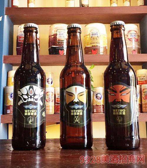 威沃啤酒玻璃瓶装三国系列
