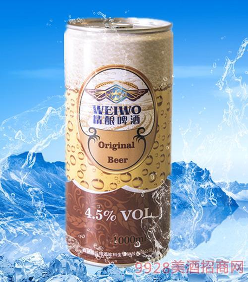 威沃红啤1L