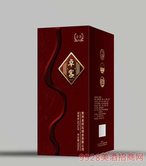 卓客酒500ml52度